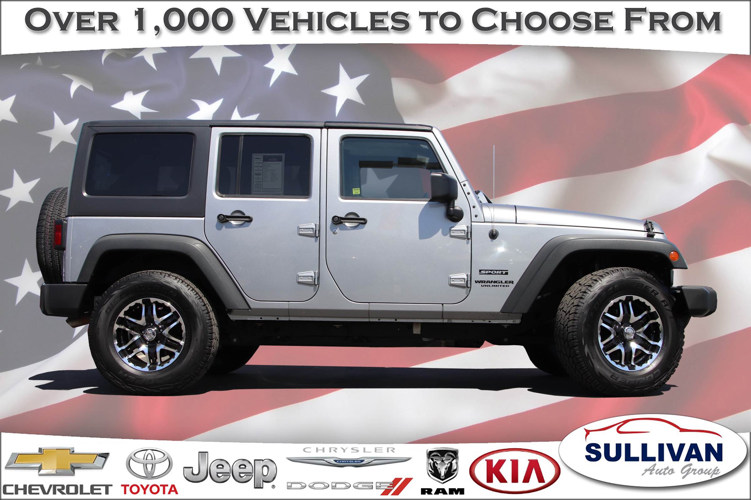 Certified Pre Owned 2014 Jeep Wrangler Unlimited Sport 4D Sport