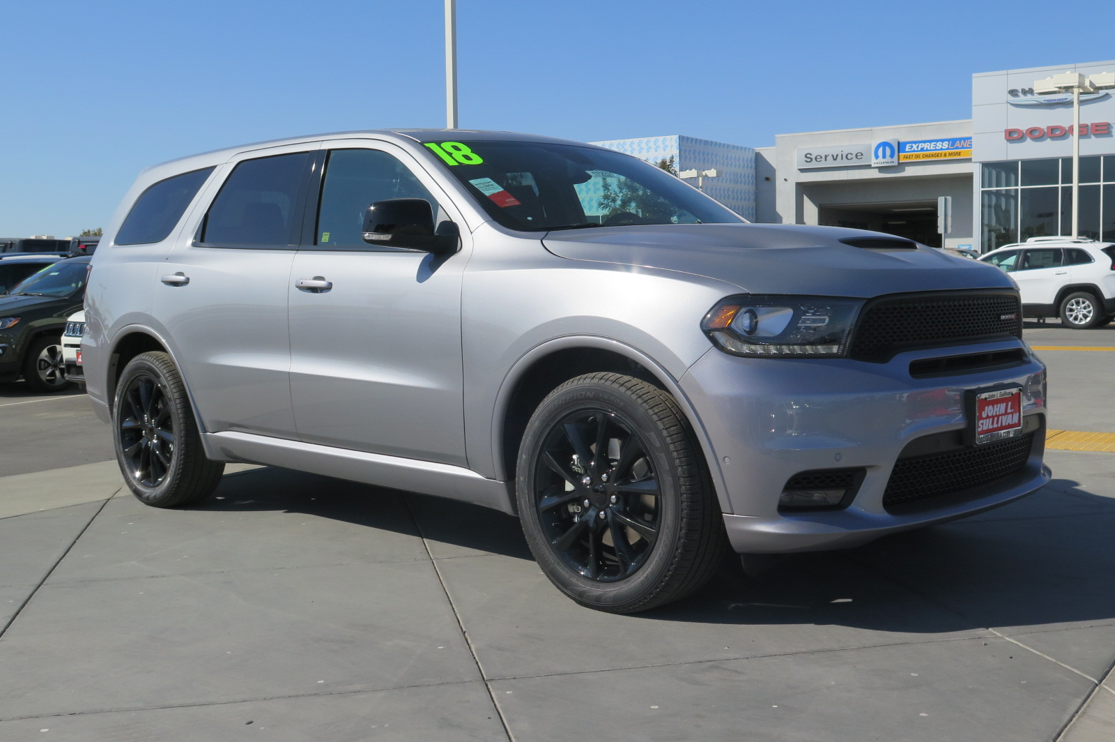 New 2018 Dodge Durango R T 4d Sport Utility In Yuba City