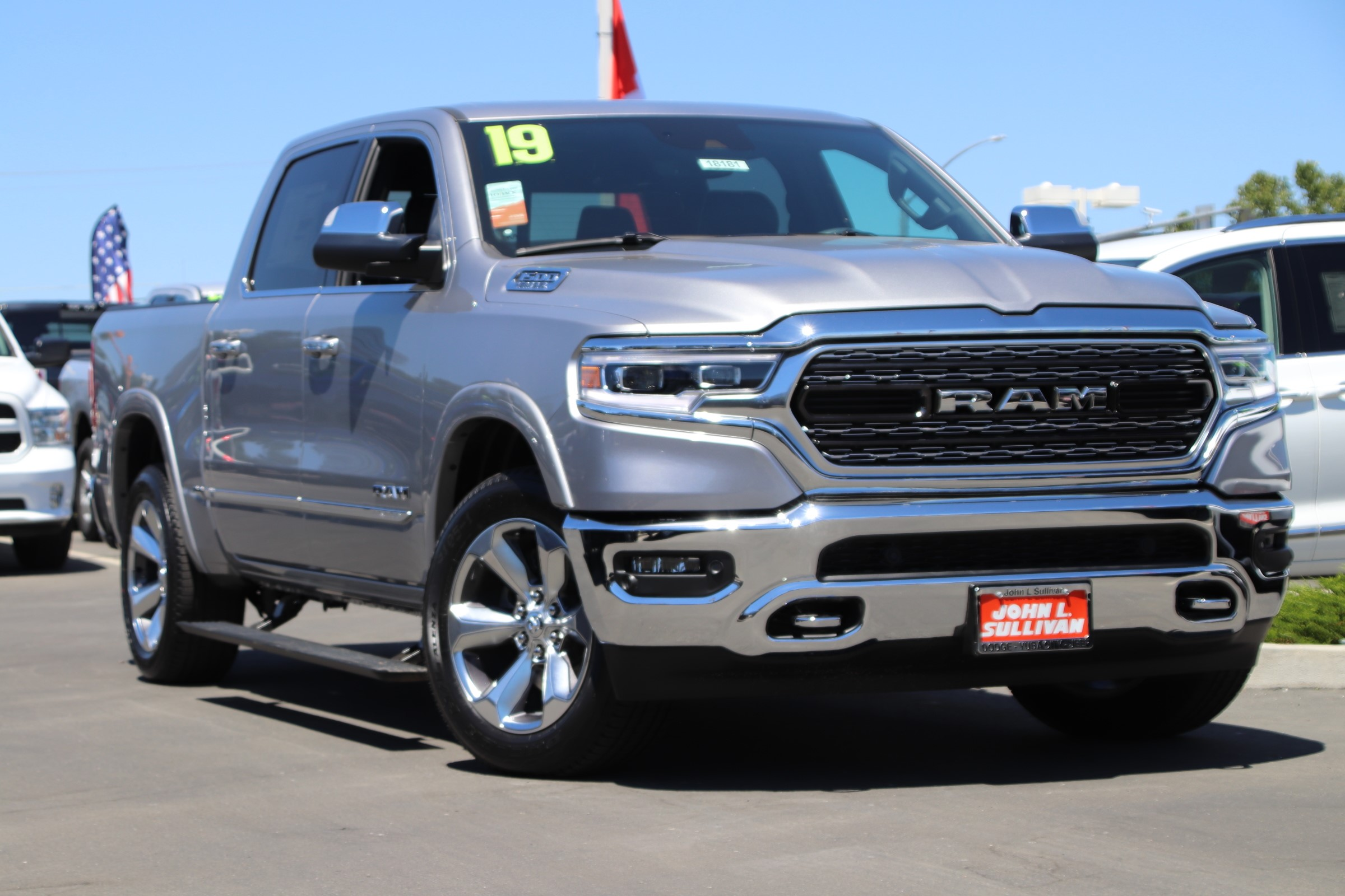 New 2019 Ram 1500 Limited 4d Crew Cab In Yuba City 00018181 John 2013 Dodge 5500 Fuel Filter Location