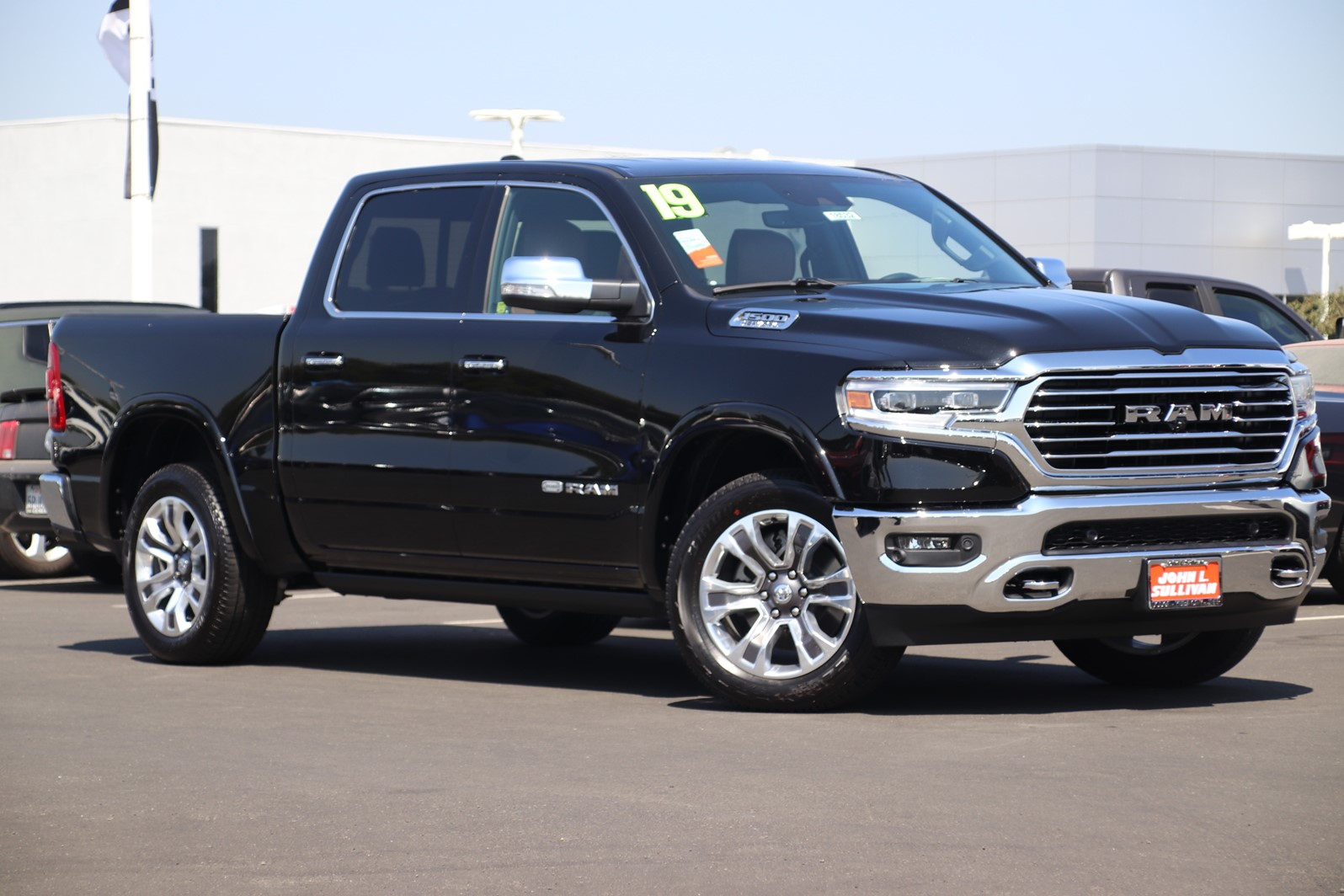 new 2019 ram all new 1500 laramie longhorn 4d crew cab in. Black Bedroom Furniture Sets. Home Design Ideas