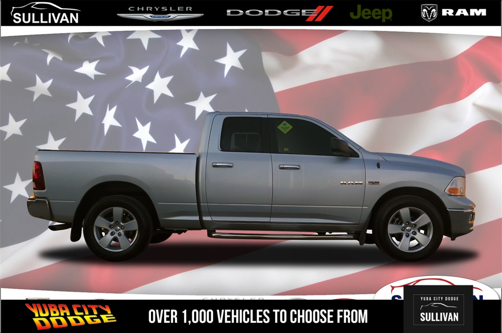 Pre-Owned 2009 Dodge Ram 1500 SLT 4D Quad Cab in Yuba City #000C9199
