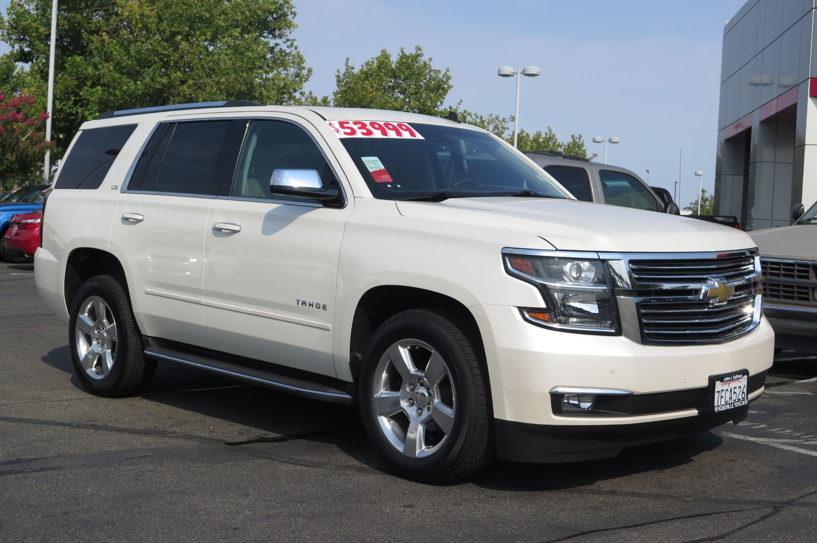 Tahoe 2015 chevrolet tahoe lt : Pre-Owned 2015 Chevrolet Tahoe LTZ 4D Sport Utility in Yuba City ...