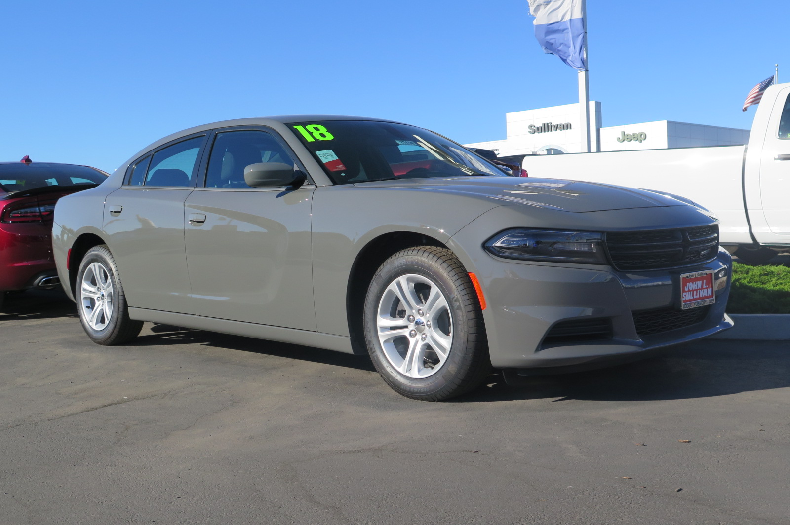 New 2018 Dodge Charger Sxt 4d Sedan In Yuba City 00017159