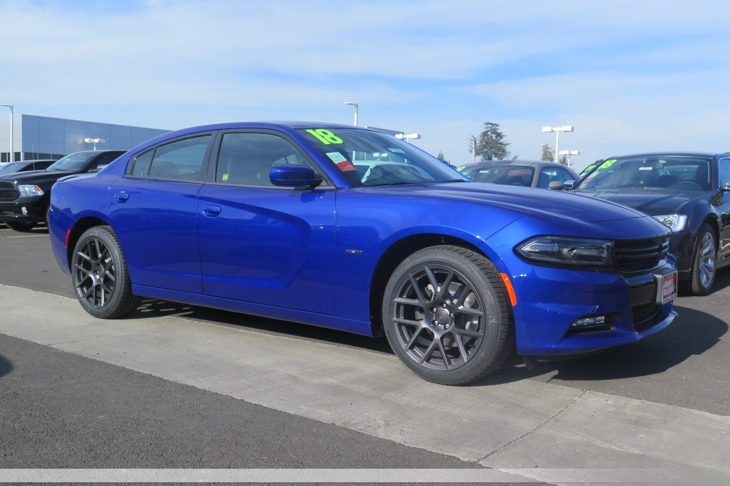 New 2018 DODGE Charger R/T 4D Sedan in Yuba City #00017503 | John L Sullivan Dodge Chrysler Jeep Ram