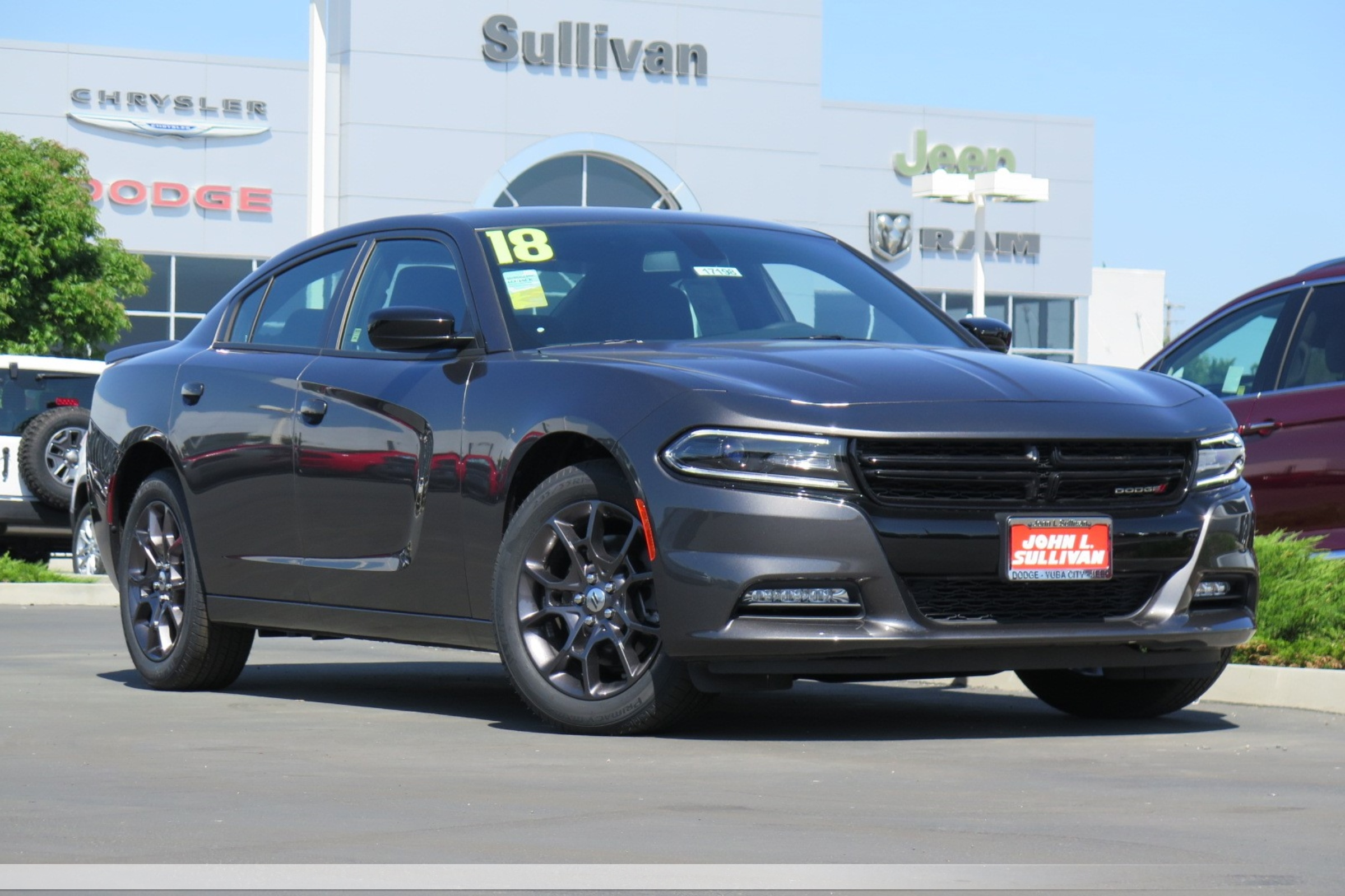 New 2018 DODGE Charger GT 4D Sedan in Yuba City #00017198 | John L