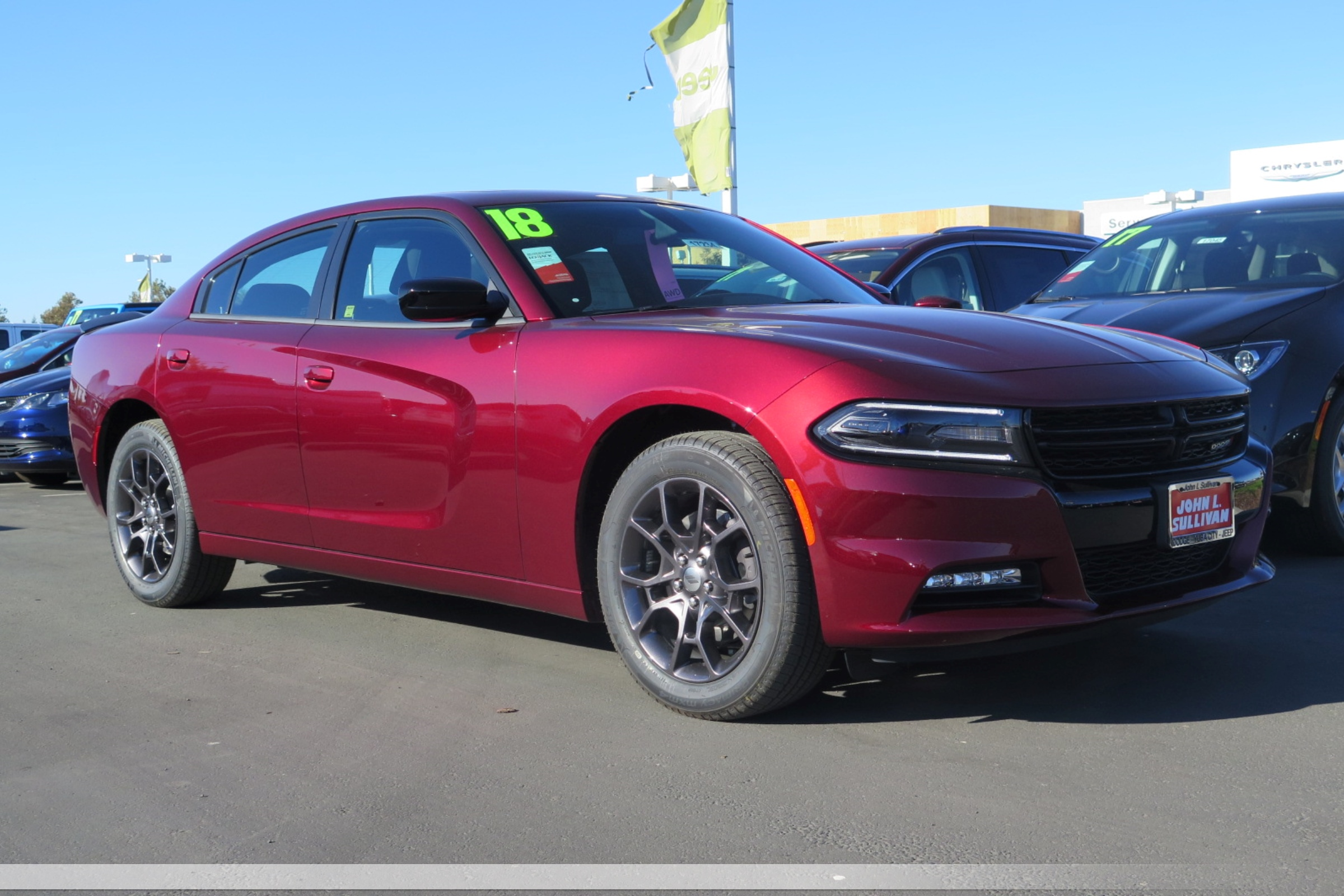 New 2018 DODGE Charger GT 4D Sedan in Yuba City