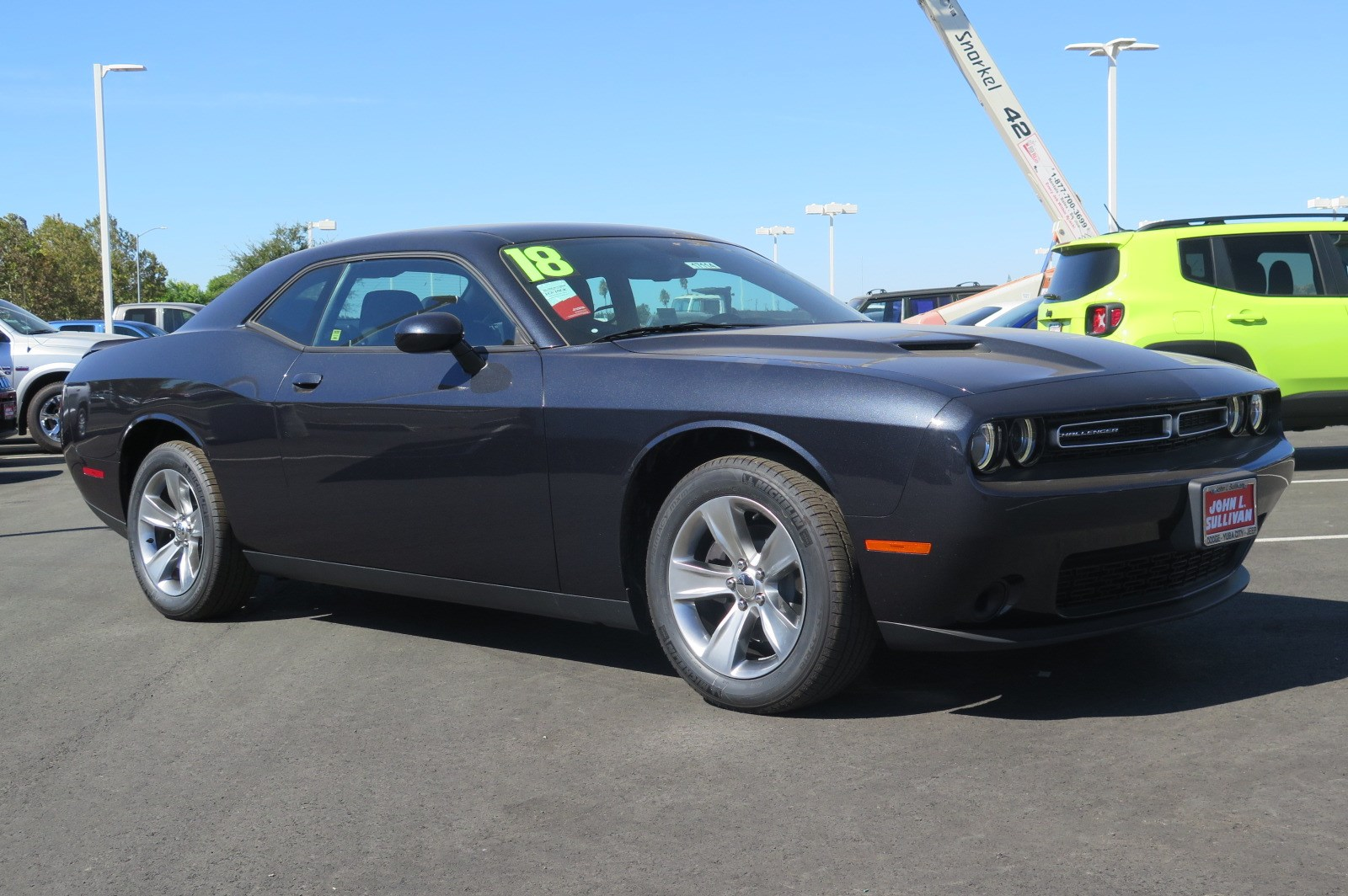 New 2018 Dodge Challenger SXT 2D Coupe in Yuba City #00017114 ...
