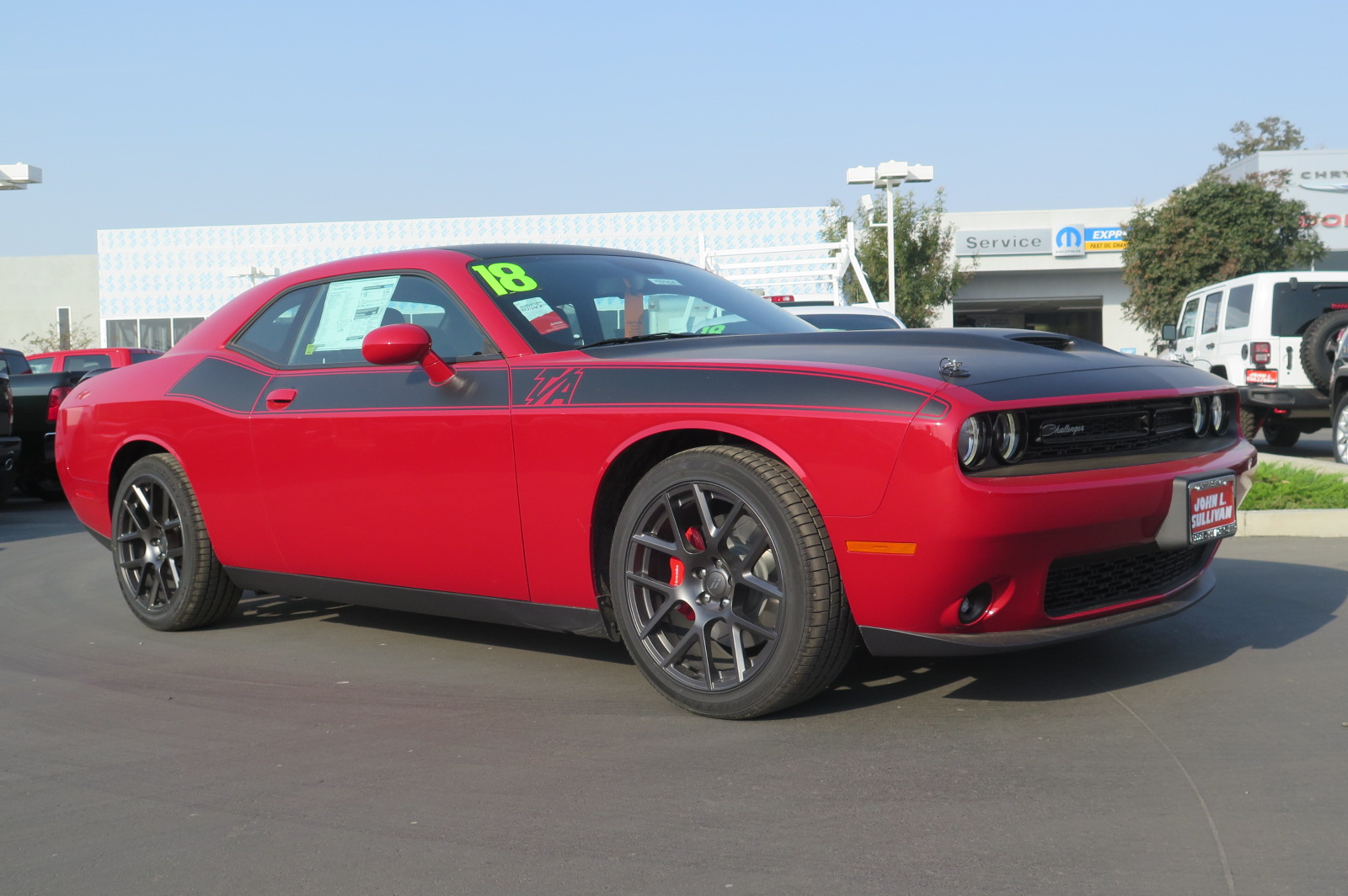 New 2018 Dodge Challenger R T 2d Coupe In Yuba City 00017331 John