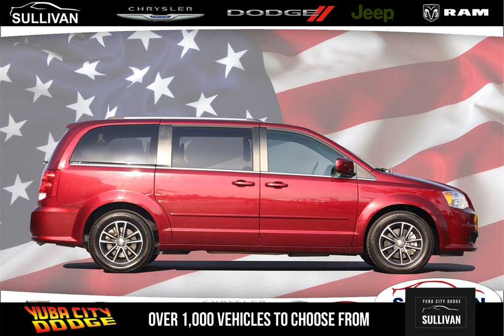 6f04296e956389 Pre-Owned 2017 Dodge Grand Caravan SXT 4D Passenger Van in Yuba City ...