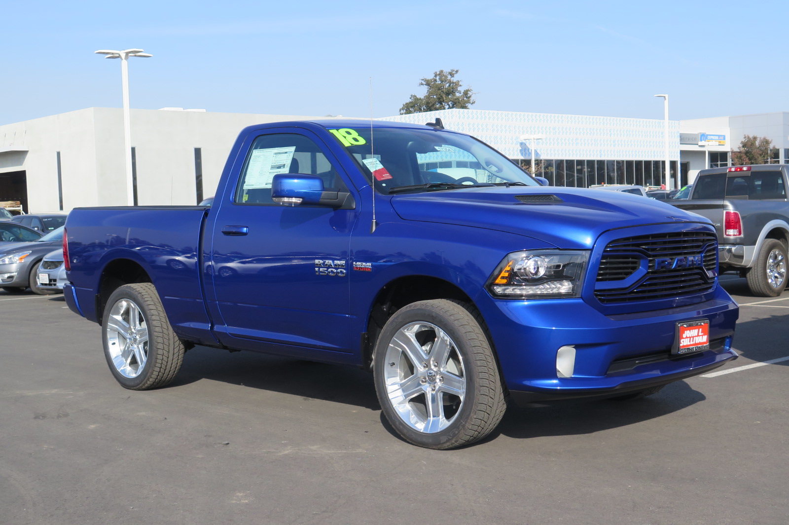 New 2018 Ram 1500 2d Standard Cab In Yuba City 00017354
