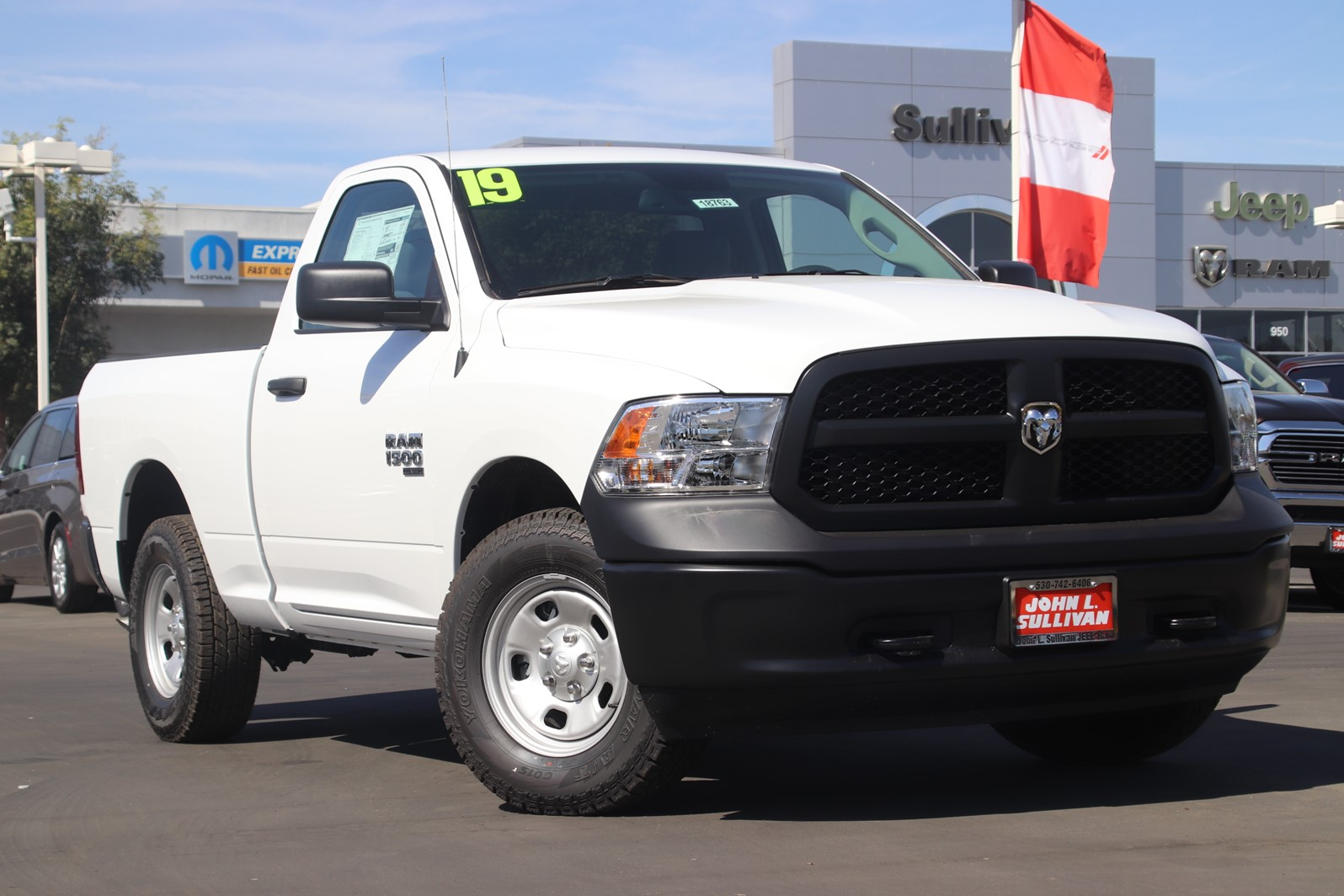 New 2019 Ram 1500 Classic Tradesman 2d Standard Cab In Yuba City