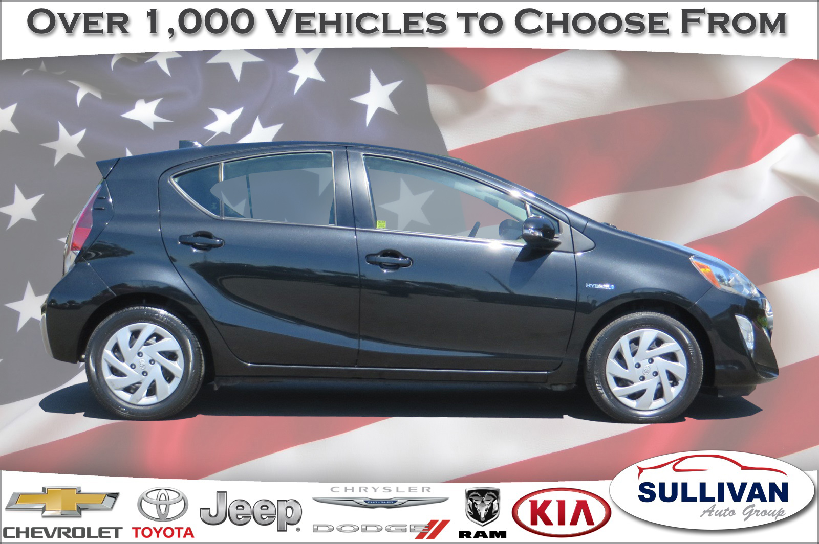 Pre Owned 2015 Toyota Prius C One